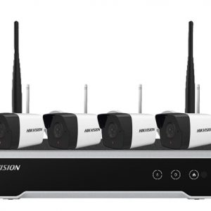 Bộ KIT Wifi 4 Camera + 1 NVR NK42WO (2MP)